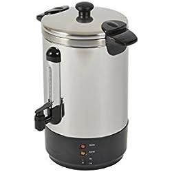 Kitchen Chef ZJ-88 Percolateur, 950 W, Acier Inoxydable