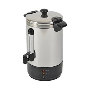 Calor ZJ-88 Percolateur à Café Professionel 8.8L 40/50 Tasses en Inox