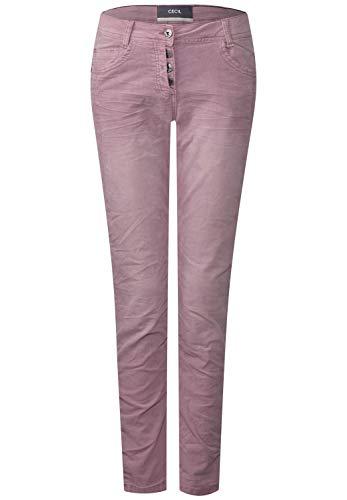 Cecil Damen Hose 371677 Hailey, Pink (Dusty Rose 11504), W29/L32 (Herstellergröße: 29)