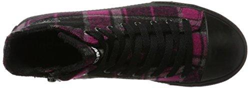 Romika Soling 07, Sneaker a Collo Alto Unisex-Adulto Mehrfarbig (Bordo-Multi (412))