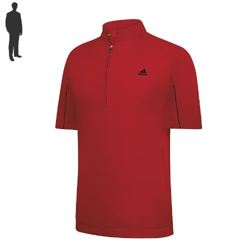 ADIDAS HERREN WINDSHIRT CLIMAPROOF UNIVERSITY RED Größe: M (Adidas Windshirt)