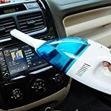 #7: High Power Portable Handheld Vacuum Cleaner for Car DC 12VOLT (Multi Color)