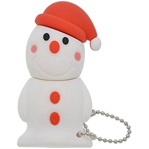 FEBNISCTE 32gb USB 2.0 Pen Drive para la Familia Regalo de Navidad