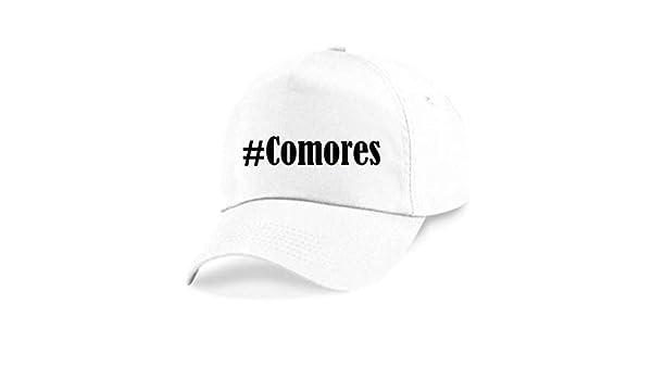 Casquettes de Baseball #Comores Hashtag Diamant Social Network Basecap pour Les Hommes Femmes Gar/çon /& Fille en Noir