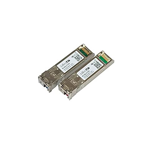 Pair of bidirectional SFP 10G 10km modules (RB/S+23LC10D + RB/S+32LC10D)