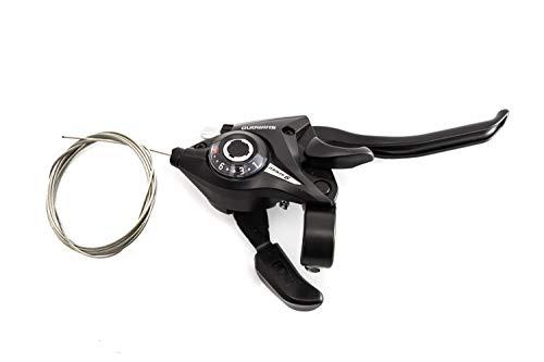 Fahrrad Schalt-Bremshebel Shimano Altus rechts 9-Fach ST-EF51-9R schwarz 2 Finger -