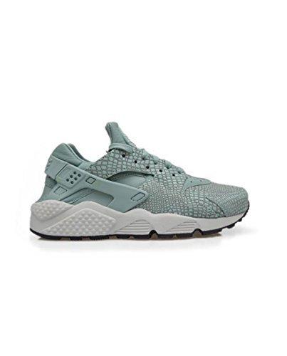NIKE Womens Air Huarache Run Print Running Trainers 725076 Sneakers Shoes (US 7.5, Cannon Pure Platinum 006)