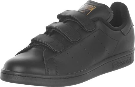 adidas Stan Smith, Baskets Basses Homme Noir