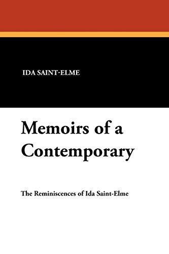 Memoirs of a Contemporary by Lionel Strachey (2008-08-30)