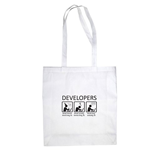Beutel Developers Stofftasche Developers Beutel Weiß Beutel Stofftasche Weiß Stofftasche Developers qBHxIP1qw