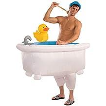 Disfraz bañera hinchable adulto Única