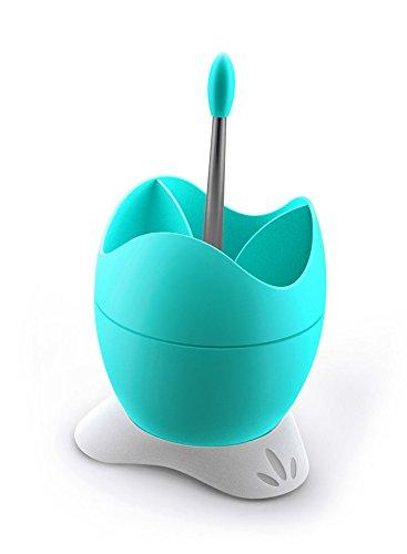 Polistirene-Scolaposate BIESSE CASA con contenitore per l'acqua e impugnatura, colore: blu chiaro