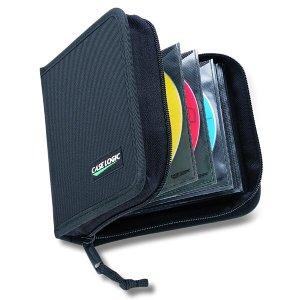 Case Logic CD/DVD Wallet Aufbewahrungstasche für 32 CDs/DVDs (oder 16 inkl. Booklet) schwarz Case Logic Dvd