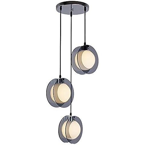 YUENLONG 3 camera da letto soggiorno lampadario ristorante e lampadari da pranzo lungo 70cm