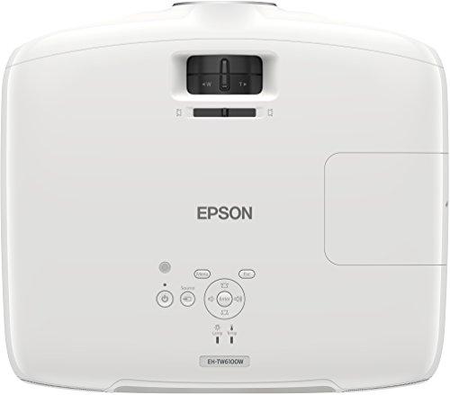 Bild 41: Epson EH-TW6100 3D Heimkino 3LCD-Projektor (Full HD 1080p, 2.300 Lumen Weiß & Farbhelligkeit, 40.000:1 Kontrast, 2x HDMI (1x MHL), inkl. 1x 3D Brille) schwarz