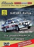 Safari Rallye WM 83 Ari Vatanen und OPEL