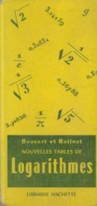 NOUVELLES TABLES DE LOGARITHMES A CINQ DECIMALES. Table numérique, tables trigonométriques, division centésimale, division sexagésimale par C Bouvard