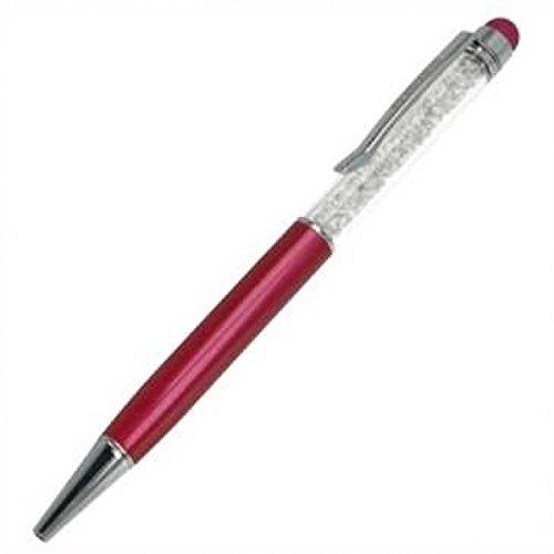 Valenta Glitter Stylus Pen für Touchscreen Smartphone dunkelrosa