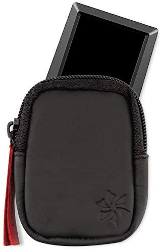 honju Bike Echtledertasche für Bosch Kiox E-Bike / Pedelec (Displayschutz, Innentasche für Schlüssel, Schutz vor Kratzer & Schmutz), schwarz