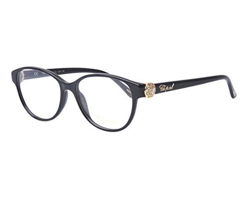 Chopard Brille (VCH-160-S 0700) Acetate Kunststoff glänzend schwarz - gold