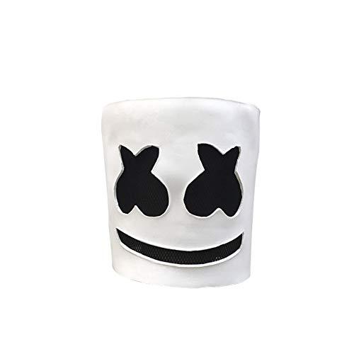 ZREAL Marshmello Helm Maske Cosplay Kostüm Halloween Party Requisiten Bar DJ Supplies