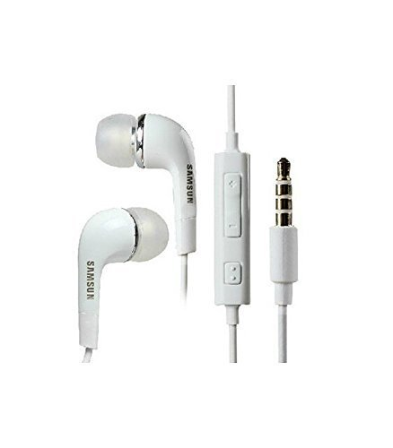 Selva Samsung Compatible In Ear headphone Deep Bass Earphone Headset with Mic Volume controller and 3.5mm Jack For Samsung (EHS64AVFWE) - White  available at amazon for Rs.130