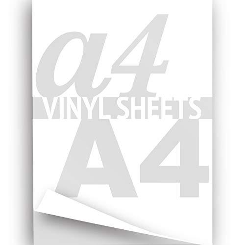 A4weiß 297x 210mm 2x Hot Flex Eisen auf Transfer Papier Kleidung Vinyl