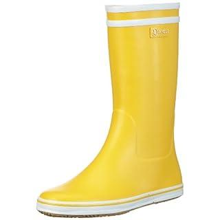 Aigle Damen Malouine BT Gummistiefel, Gelb (jaune / blanc 3), 40 EU (6.5 UK)
