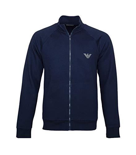 emporio armani jacke Emporio Armani Sweater Jacke mit Reißverschluss 111570 8A571 00135 Marine SH18-EAS1 Größe L