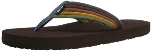 teva-mush-ii-canvas-ms-tongs-homme-multicolore-levels-vintage-42-eu