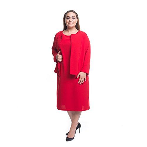 melisita - Tailleur-robe - Femme Rouge