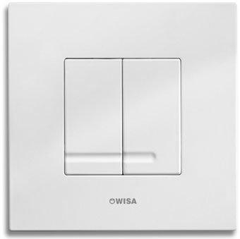 WISA XS Excellent WC Bedienungsplatte Delos DF matt chrom