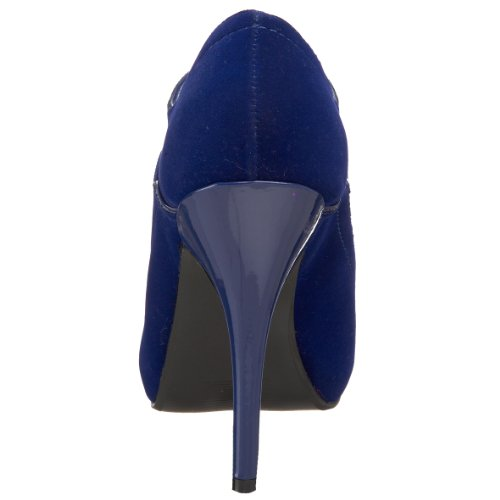 Bordello WINK01/BLU/VEL Boots Femmes Blau