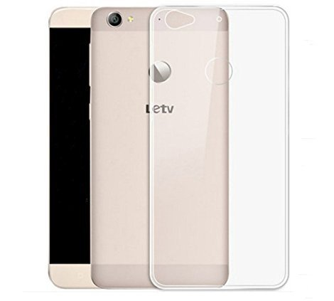 Dashmesh Shopping Letv Le 1S Back Cover Case [Soft Transparent]