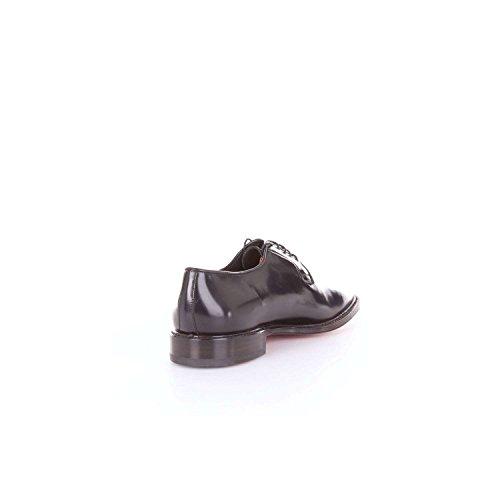 Santoni MCWA13527LC2NRYE Chaussures Classiques Homme Noir