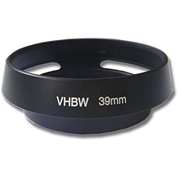 Leica Tamron Panasonic Tokina Sigma Olympus Pentax Samsung Leadasy 37mm Pare-Soleil dobjectif Ventil/é M/étal pour Canon Nikon Fujifilm