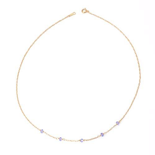 ld Kristall - Kette Kurze Weiblich Einfach Und Großzügig Halskette ()