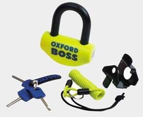 Price comparison product image OF39 - Oxford Boss Disc Lock Yellow