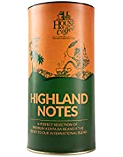 House of Coffee, Highland Notes from Kenya & Baba Budangiri Hills, Freshly Roasted & Ground, Specialty Coffee, Perfect for Black Coffee, Medium Roast (250gm)