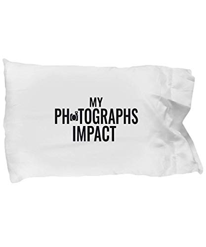 Bikofhd Photographer Kissenbezug - My Photographs Impact - Photo Journalist Gift - Standard Size 20