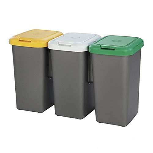 Imagen de Cubos de Reciclaje Domestico Tontarelli por menos de 40 euros.