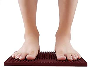 2017 Foot Pyramid Shape Energy Mat Acupressure Magnet Feet Massage Therapy Insole Men Women Full Plantar Foot Health Care Pad
