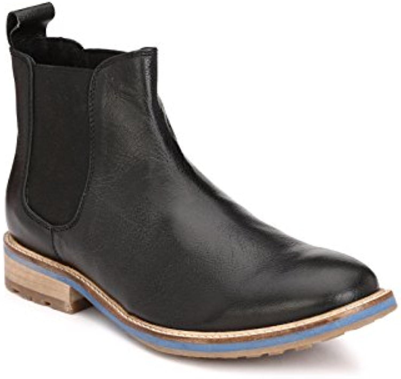 Jacksin    Herren Chelsea BootsJacksin Herren Chelsea Boots Schwarz Billig und erschwinglich Im Verkauf