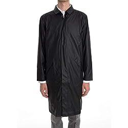 Rains Chaqueta Impermeable Maccoatblack Color Negro Para Hombre
