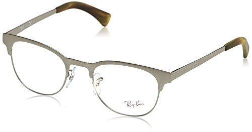 Ray-Ban Unisex-Erwachsene Brillengestell RX6317, Schwarz (Negro), 51