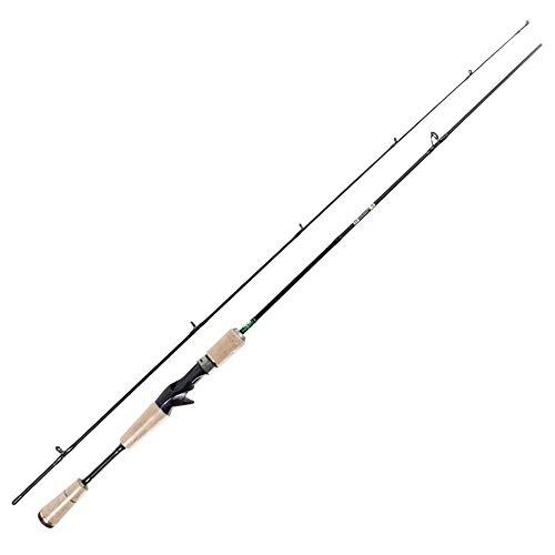Uiophjkl pala da bobina per la pesca in mare canna da pesca gun mouth horse ul carbon road fishing rod 1,8 m 2 knot cork