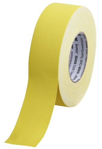 Scotch 9545N Y50 Gewebeband, 1 Rolle, 50 mm x 50 m, gelb