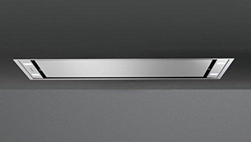 Falmec Stella Dunstabzugshaube zur Deckenmontage Edelstahl, 4Leuchtmittel, LED, Bedienungstasten