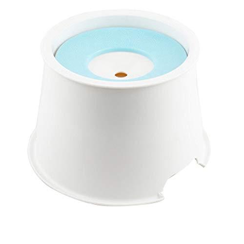 Katzen Trinkbrunnen, Schwimmende Schüssel Erhöhen Axial-Flow-Kompressor Hunde Wasserschüssel Spritzwasser Schalen Katze Elektrischer Wasserspender Wasservorrichtung Katze Hundewasserbrunnen Haustier W -