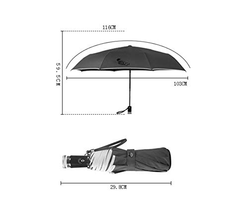 ZDS Paraguas, Hombres Automáticos, Mujeres, Plegado